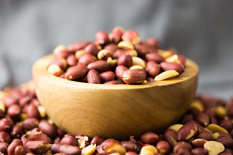 Valencia Red Skin Peanut Lifestyle for National Peanut Month