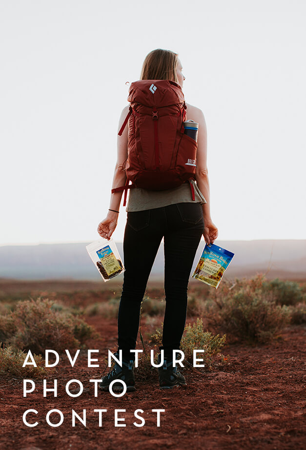 Enter to Win Adventure Photography Contest outdoor snacks by SunRidge Farms