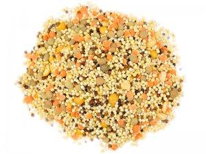 organic tri color quinoa pilaf mix