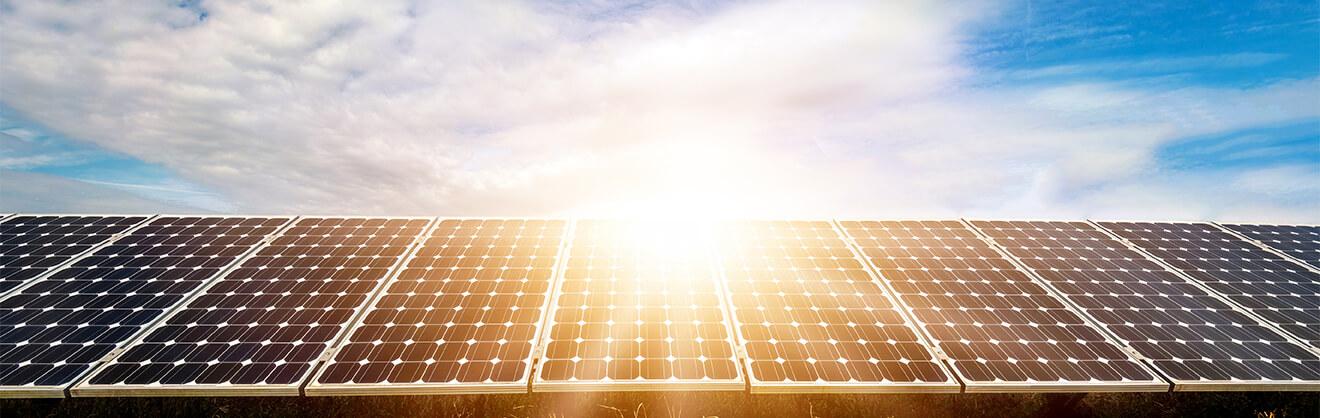 Solar Panels Web Banner Sunridge Farms